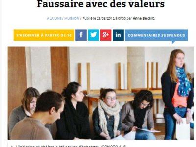 Classe PAC: atelier théâtre avec la Compagnie Théâtre Label Etoile