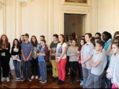 Des élèves de 4ème A   lauréats régionaux.