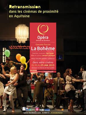 «La Bohême» au Cinéma de Mugron.