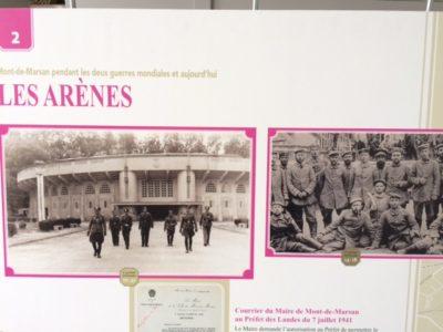 Mont-de-Marsan pendant les 2 guerres mondiales.