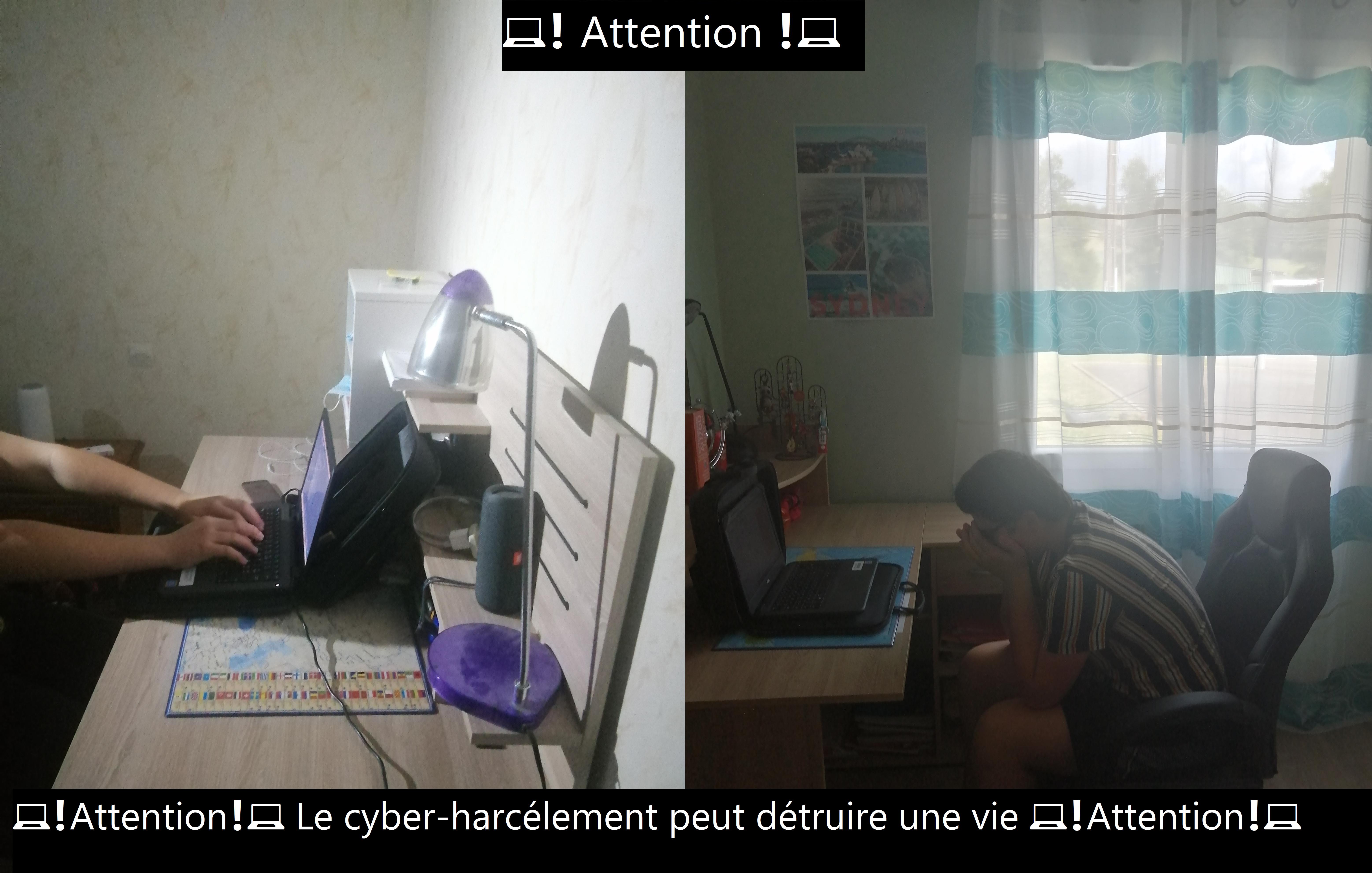 Projet cyber-harcélement Jonathan et Ludovic