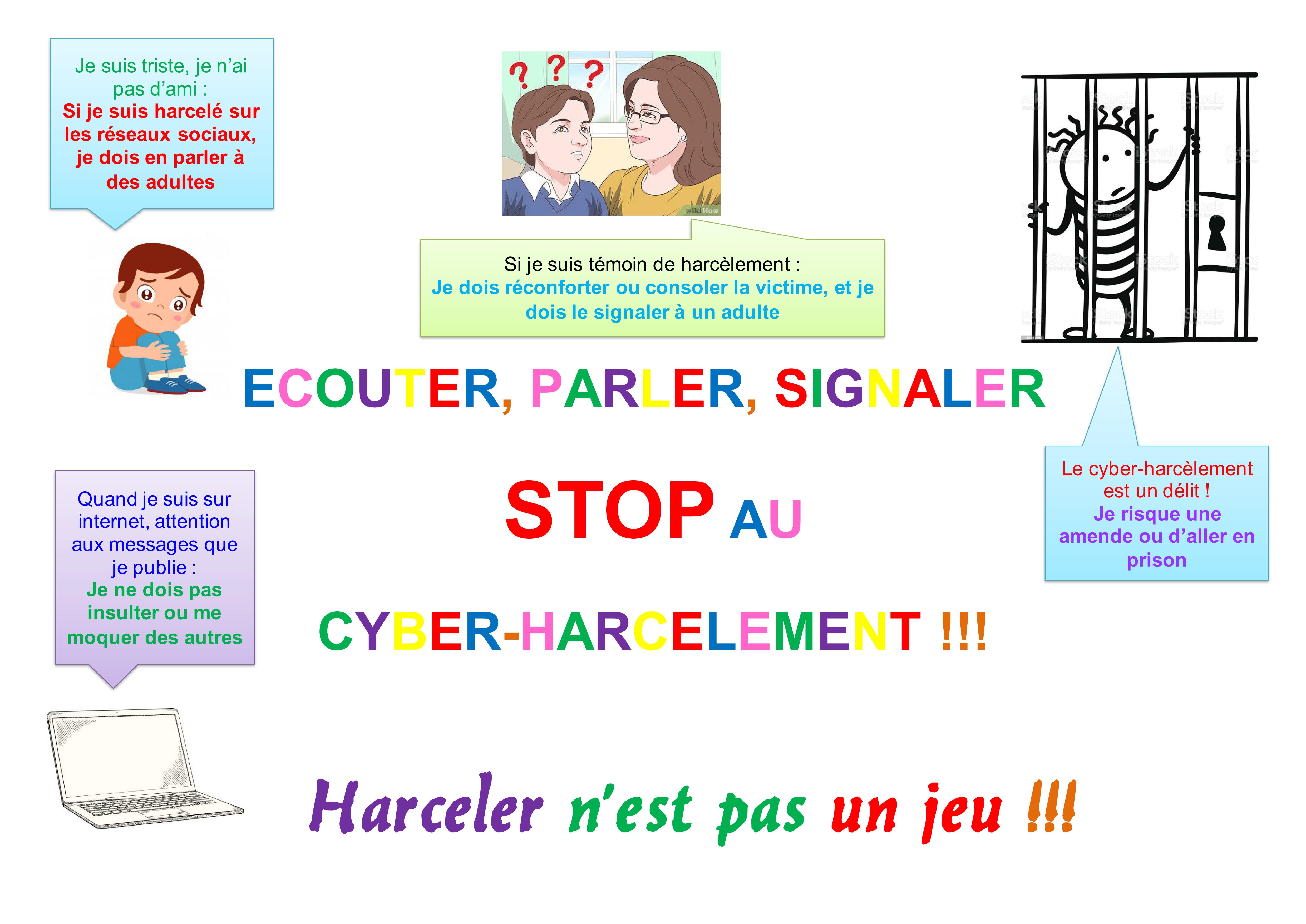 joris lafitte affiche cyber-harcèlement